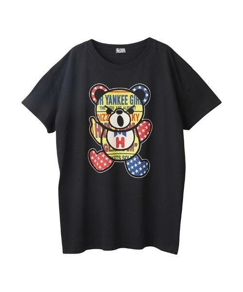 PATCH BEAR オーバーサイズTシャツ