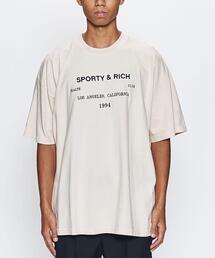 <SPORTY&RICH> LA HEALTH CLUB TEE/Tシャツ