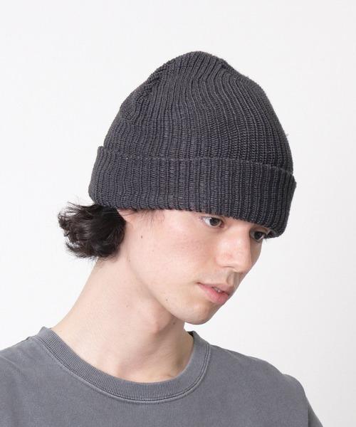 Recycled Acrylic AZE リサイクルアクリル アゼ ニットキャップ ニット帽 ビーニー ワッチ