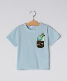 〔吸水速乾〕ポケットモチーフTシャツ