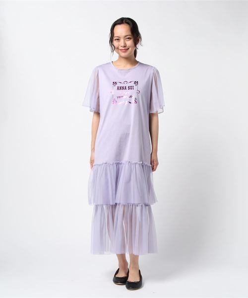 訳あり商品 <ANNA ANNA SUI×Kansai Yamamoto>チュールワンピ(ワンピース) SUI×Kansai ANNA SUI(アナスイ)のファッション通販, クツキムラ:0ce8df18 --- dcripajk.gov.pk