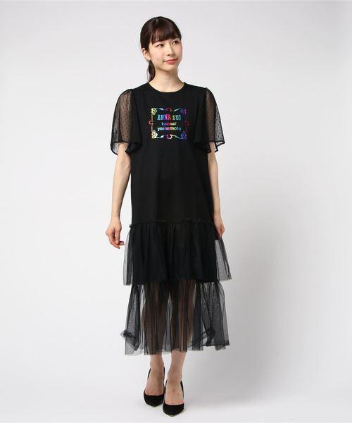日本未入荷 <ANNA SUI×Kansai SUI×Kansai Yamamoto>チュールワンピ(ワンピース) ANNA SUI(アナスイ)のファッション通販, e-おもちゃ雑貨Shop:5b31ddd7 --- dcripajk.gov.pk