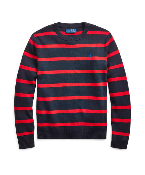 贅沢屋の ストライプド コットン セーター(ニット/セーター) コットン|Polo Ralph Lauren RALPH LAUREN Childrenswear(ポロラルフローレンチャイルドウェア)のファッション通販, イーグル舶来堂:20469c5a --- bebdimoramungia.it