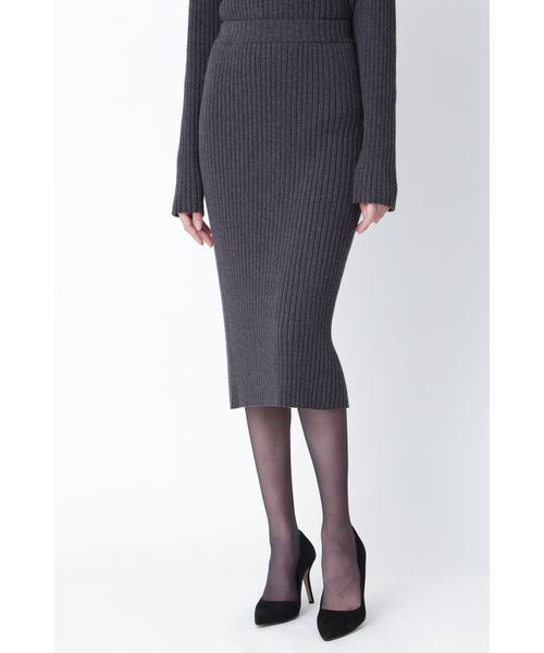 2019激安通販 ミドルゲージRIBニットUPスカート(スカート)|PINKY&DIANNE(ピンキーアンドダイアン)のファッション通販, 綿半オンラインショップ:d7381ec5 --- svarogday.com