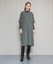 <R JUBILEE>SHORT SLEEVE T-SHIRT DRESS/ワンピース.