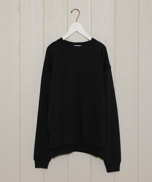 <H>COTTON CREW NECK PULLOVER/カットソー