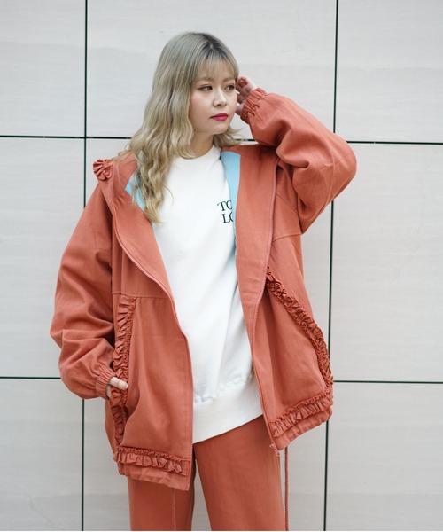 LittleSunnyBite/リトルサニーバイト/Frill big jacket