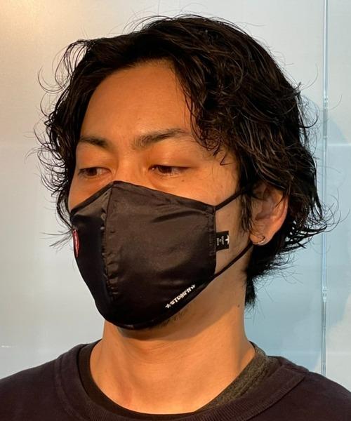 STUD MUFFIN/スタッドマフィン/ワンポイントパッチ3Pマスク