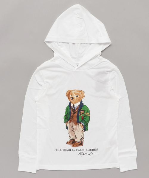 Polo ベア フーデッド Tシャツ