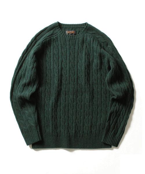 新発売の BEAMS MEN,ビームス PLUS/ PLUS ケーブルクルーニット 5G(ニット/セーター) メン,BEAMS BEAMS PLUS(ビームスプラス)のファッション通販, ホンゴウソン:bc564475 --- innorec.de