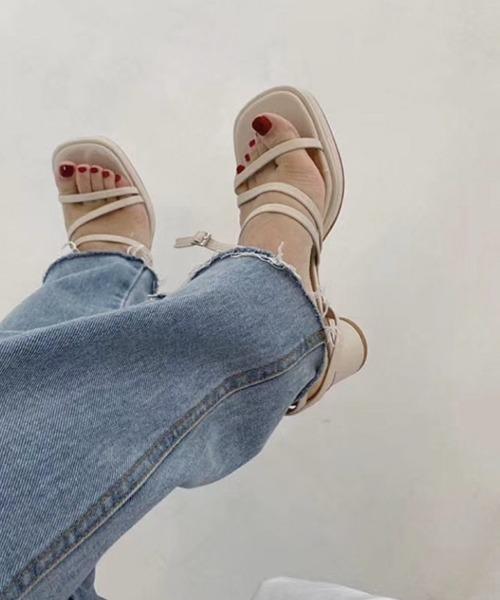 【chuclla】Platform strap-sandal sb-6 chs48