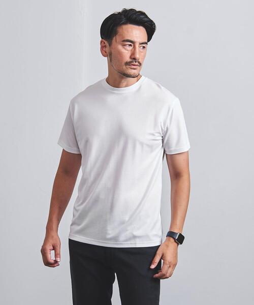 【WEB限定】<UNITED ARROWS> シャイニー クルーネック Tシャツ