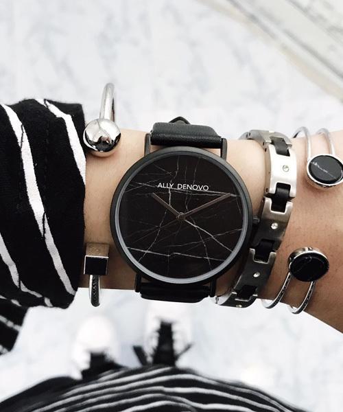 【安心発送】 〈ALLY DENOVO/アリーデノヴォ〉Carrara Marble/カララマーブル(腕時計) ALLY DENOVO(アリーデノヴォ)のファッション通販, 氷見ジェラート:eb4acb13 --- bestbikeshots.de