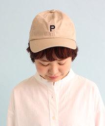 PAR ICI(パーリッシィ)の【WEB別注】PAR ICI アルファベット刺繍キャップ(キャップ)