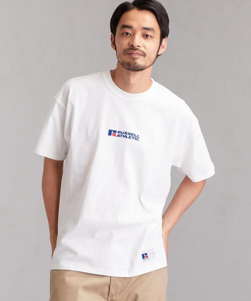 [ラッセルアスレチック]SC RUSSELL センターロゴ Tシャツ