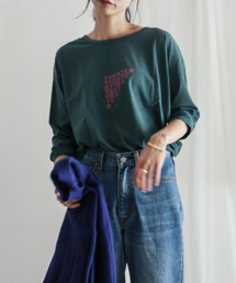 FIL DE FER(フィルデフェール)のTHEATERプリント 長袖Tシャツ(Tシャツ/カットソー)