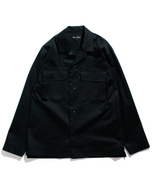 (お得な特別割引価格) Stretch Military ストレッチ shirt jacket ストレッチ ミリタリー シャツ ジャケット(ブルゾン) Military shirt|YELLOW RUBY(イエロールビー)のファッション通販, ウルフムーン:e71bab30 --- skoda-tmn.ru