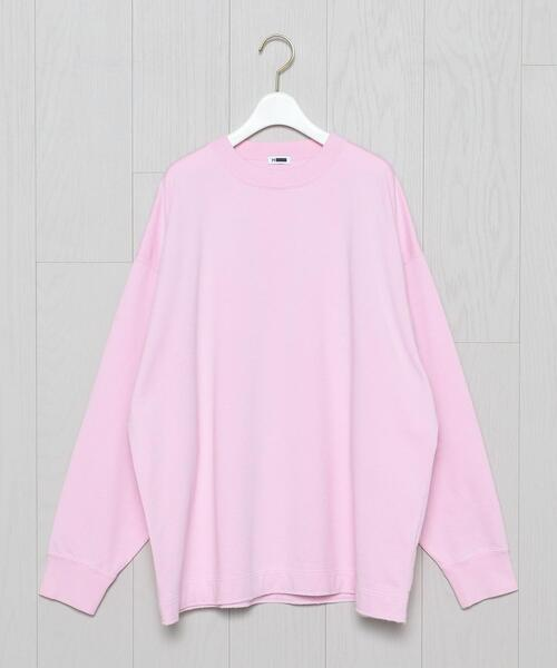 <H>COLOR SWEAT PULLOVER/スウェット