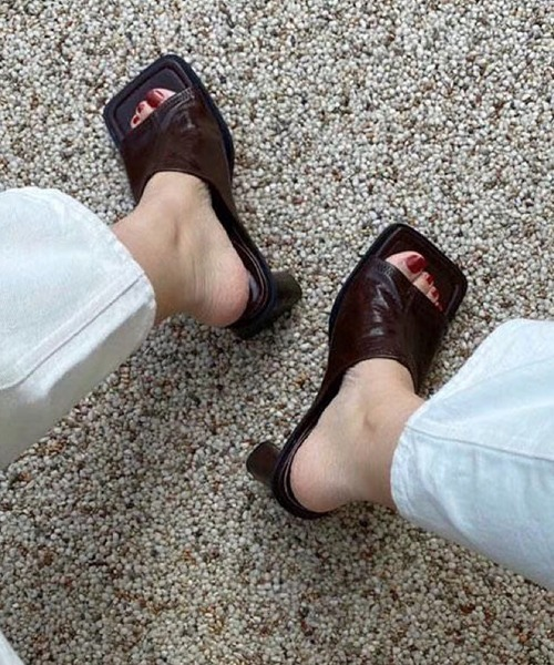 【chuclla】Wide square mule-sandal sb-6 chs49