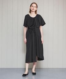 <Christian Wijnants>DAMBA BLACK DRESS/ワンピース.