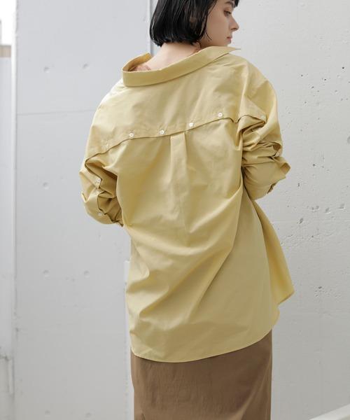TONAL(トーナル)の「2WAY釦スリーブシャツ(シャツ/ブラウス)」 詳細画像