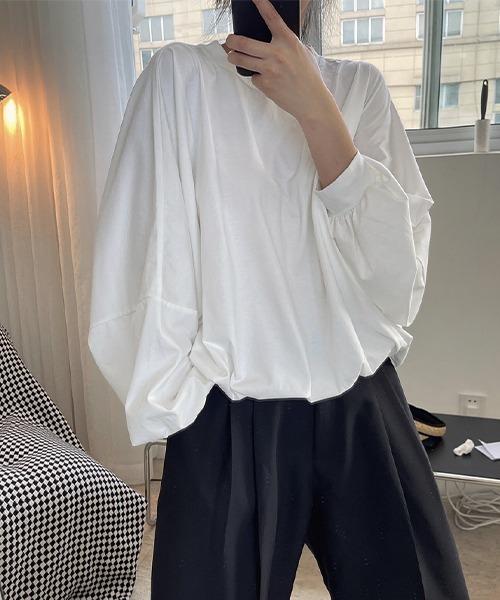 【chuclla】【2021/AW】Dolman sleeve loose T-shirt chw21a043