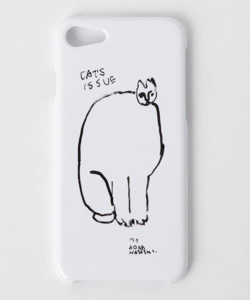 <Cat's ISSUE>IPHONE7 ケース/AONA HAYASHI Ψ