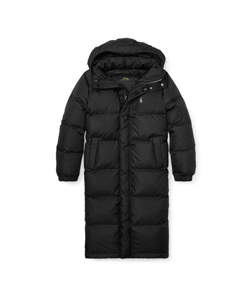 bea917d5ee657 Polo Ralph Lauren Childrenswear(ポロ キッズ)の「キルテッド ロング ダウン コート(ダウン