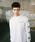 Dickies(ディッキーズ)の「【メンズ】Dickiesロゴシャイニングジェルプリント長袖Tシャツ(Tシャツ/カットソー)」|ホワイト