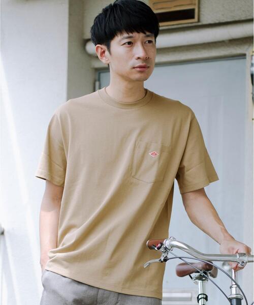 [ ダントン ]  SC DANTON ロゴ ポケット Tシャツ