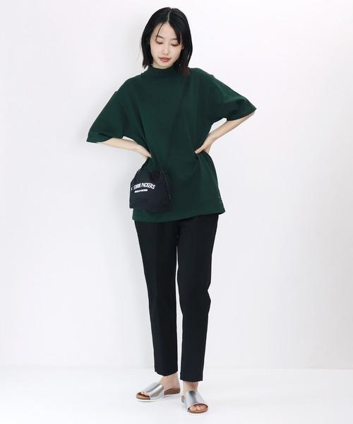 【Healthknit/ ヘルスニット】MAX WEIGHT MOCK Tshirts モックネック Tシャツ 7808 SIP