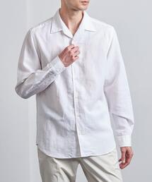 <SOVEREIGN(ソブリン)>  C/LI/LY オープンカラーシャツ◆