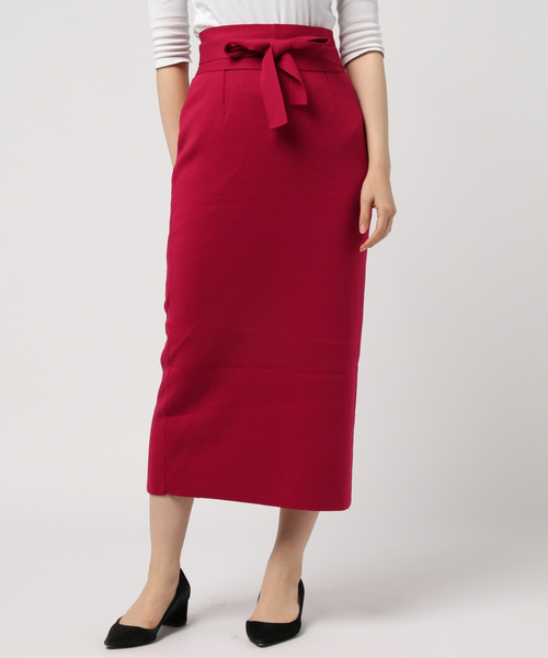 高品質の激安 ダブルフェイスニットスカート(スカート)|allureville(アルアバイル)のファッション通販, 中津江村:bf8cda77 --- 888tattoo.eu.org