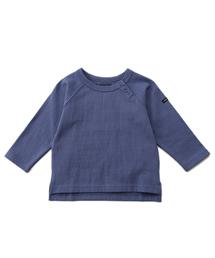 b・ROOM(ビールーム)の【WEB限定】ベーシックラグラン長袖Tシャツ(Tシャツ/カットソー)