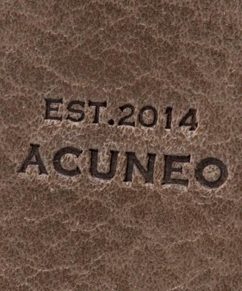 ACUNEO(アクネオ)の「ACUNEO(アクネオ)COUNTRY ラウンドファスナー カード、コインケース(コインケース/札入れ)」 詳細画像