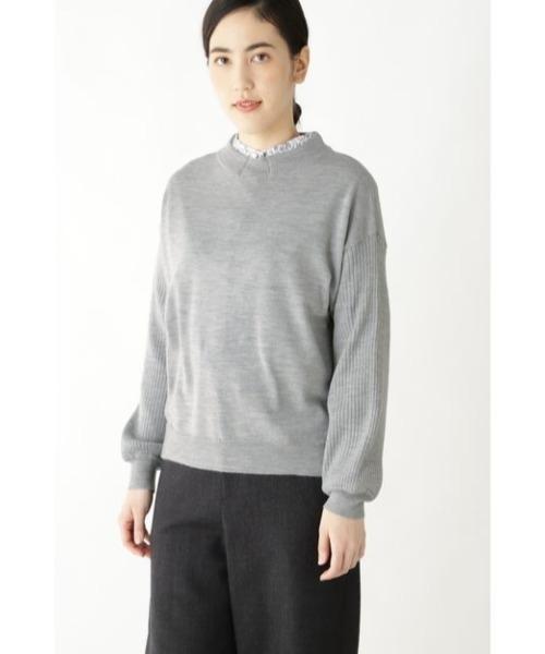【セール】ハイゲージメランジウールプルオーバー(ニット/セーター)|HUMAN WOMAN(ヒューマンウーマン)のファッション通販, 2019人気特価:9e25c48e --- tenda.berroguetto.com