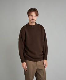 <Steven Alan> HAMILTON MOCK NECK KNIT-BOLD/ニット