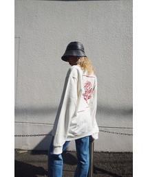FIG&VIPER(フィグアンドバイパー)のロゴROSE 裏毛PO(Tシャツ/カットソー)