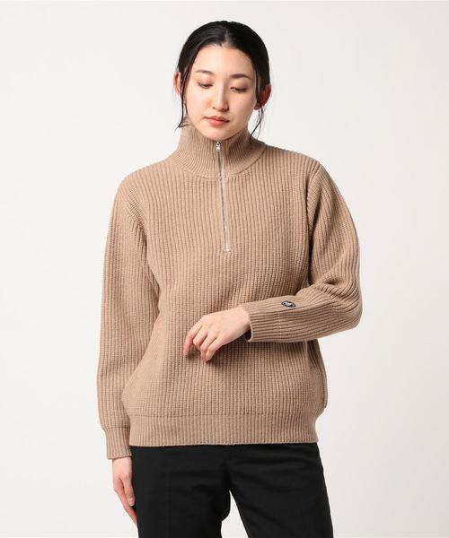 ORCIVAL / オーシバル ハーフジップセーター