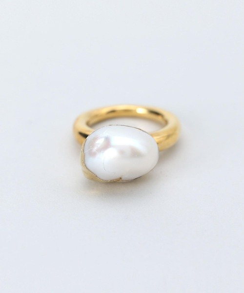 <Preek>BAROQUE PEARL RING SIZE 10/リング