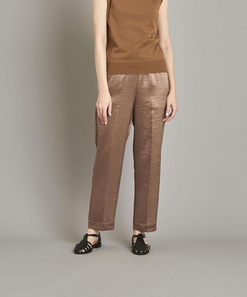 <Steven Alan>SATIN GATHER PANTS/パンツ ◆