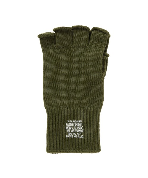 FALL2020 FINGERLESS KNIT GLOVES