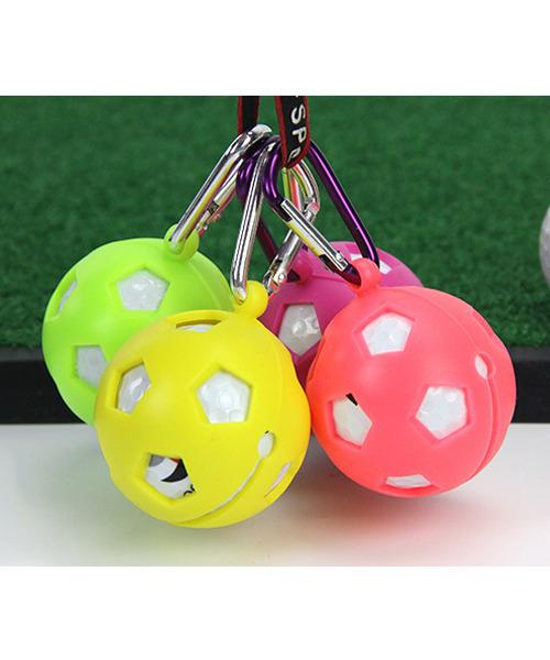 4P ゴルフボールポーチ 4色×1点セット 4色セット  ボールケース