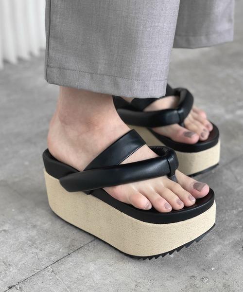 【chuclla】【2021/SS】Volume platform sandal chs132