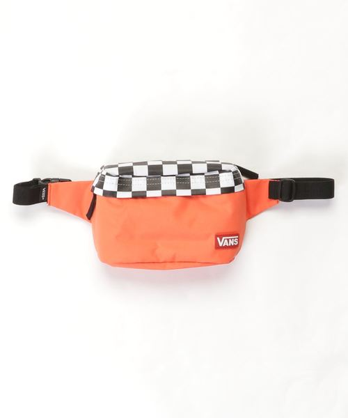 VANS(バンズ)の「【VANS / バンズ】Checker Flap Body Bag(ボディバッグ/ウエストポーチ)」 オレンジ系その他