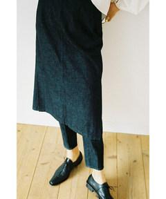 クラネ CLANE / パンツレイヤード デニムスカート PANTS LAYERED DENIM SKIRT