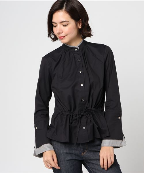 CNLZ Double collar blouse CNLZ-SH-1W