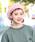 無(ム)の「シャギーベレー(ハンチング/ベレー帽)」|ピンク