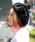 無(ム)の「シャギーベレー(ハンチング/ベレー帽)」|ブラック
