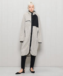 <NOMA t.d.>FLEECE ZIP LONG COAT/コート